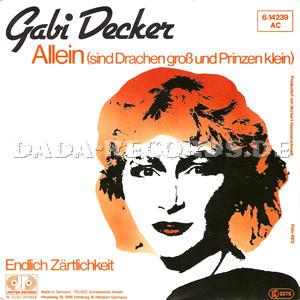 ... Allein (sind Drachen groß und Prinzen klein) (<b>Axel Breitung</b>-Gabi Decker) - 12842010400001_v
