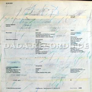 Bruno Ganz Produced By Manfred Eicher Gedichte Gelesen Von