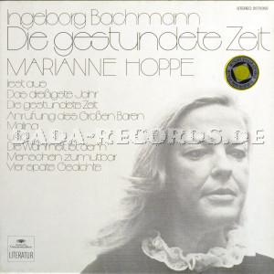 Marianne Hoppe Marianne Hoppe Liest Ingeborg Bachmann