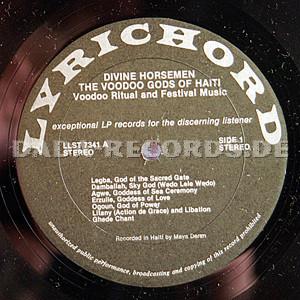 Unknown Artists: Divine Horsemen - The Voodoo Gods Of Haiti, Voodoo