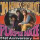Jimi Hendrix Experience  - Purple Haze (Hendrix) 51st Anniversary (Hendrix)