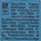 Das Odeon-Studio-Orchester unter der Leitung von Ferdy Klein  - Melissa-Thema (Thomas) A-Side: aus dem gleichnamigen Kriminal-Fernsehspiel von Francis Durbridge Walter And Connie Reporting (White) B-Side: Titelmusik aus der TV Serie
