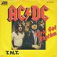 AC/DC (ACDC ; ac dc)  - Girls Got Rhythm (Young, Young, Scott) T.N.T. (Young, Young, Scott)