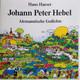 Hans Haeser  - Johann Peter Hebel: Alemannische Gedichte
