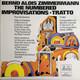 The Manfred Schoof Quintet Alexander Von Schlippenbach, Buschi Niebergall, Gerd Dudek, Manfred Schoof, Jaki Liebezeit  - Bernd Alois Zimmermann: The Numbered (Die Befristeten)- Improvisations - Tratto