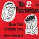 Die 2 Peterlesboum  - Unser Club ist immer vorn (Schaftitel-Jahreis) Wenn's Samstag ist (Ullrich-Vogt-Händel)
