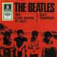 The Beatles  - We can work it out (Lennon, McCartney) Day tripper (Lennon, McCartney)