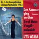 Lys Assia Werner Müller und sein Orchester  - Der Sommer ging vorüber (Dansevise) (Otto Francker - R.M. Siegel) Zwei blaue Vergißmeinnicht (Say Wonderful Things To Me) (Newell-Green-Feltz)